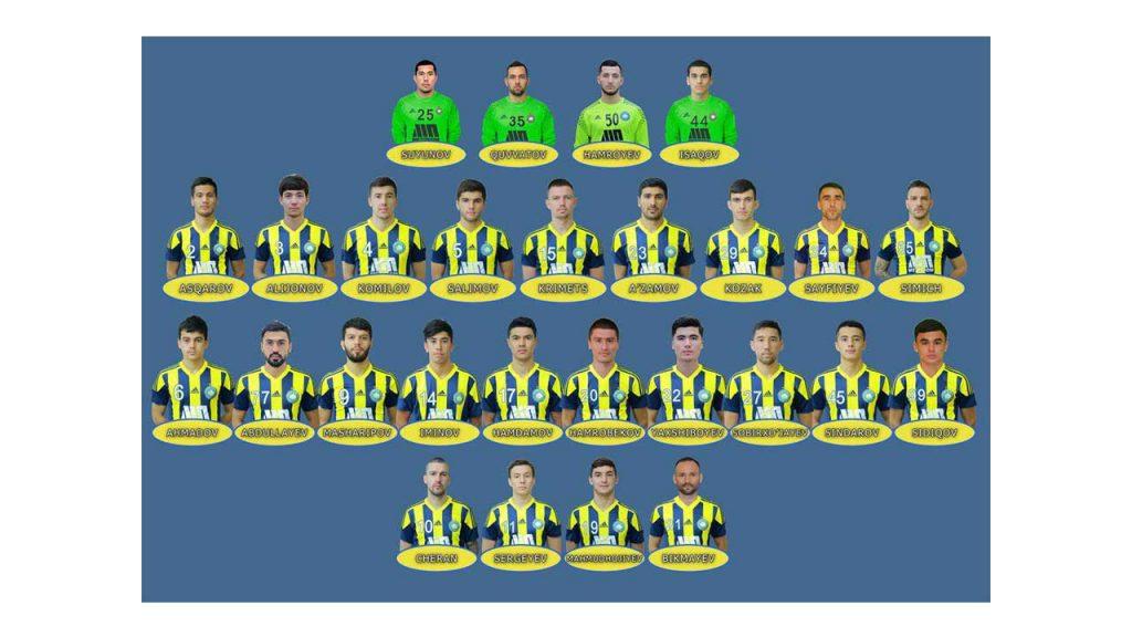 Tim Terpilih Uzbekistan League